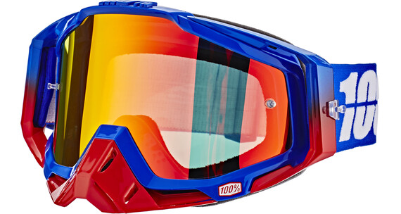 100% Racecraft Anti Fog Mirror Lens republic